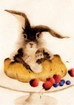 Bunny With Pie